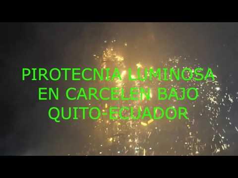 Marco Llugsha-Pirotecnia Luminosa en Carcelen Bajo