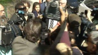 Skelos and Son Arrive for Sentencing