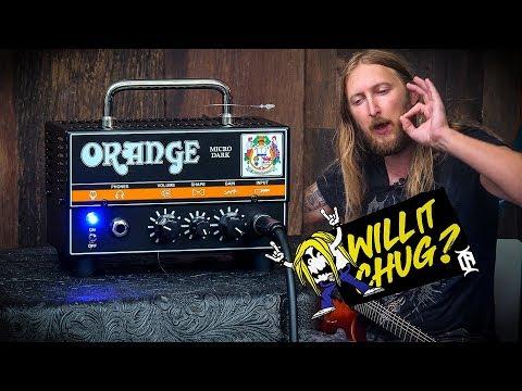 WILL IT CHUG? - Orange Micro Dark