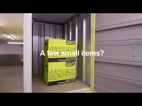 The ultimate storage unit size guide by Storage World