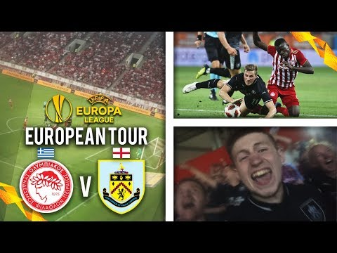 YOU WON'T BELIEVE THIS!! - OLYMPIACOS 3-1 BURNLEY AWAY DAY VLOG!