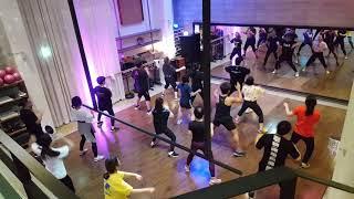 k-pop dance 고흥민 강사님과 피트니스 다이어트…