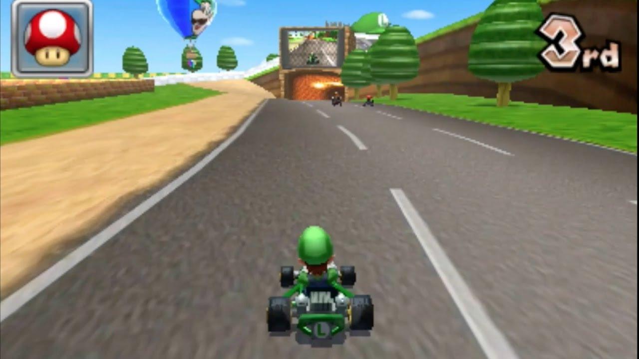 N64 Luigi Raceway Custom Mario Kart
