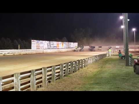 Selinsgrove Speedway 360 Sprint Car Highlights 7-23-16