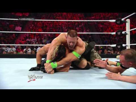 John Cena vs. Seth Rollins: Raw, July 7, 2014