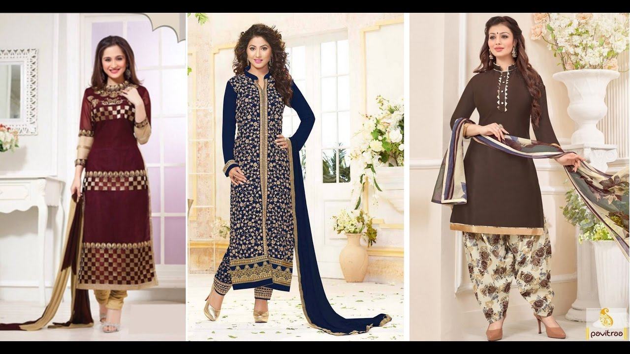 f78a4eb53b Latest Pakistani Dress Design Salwar Kameez - YouTube