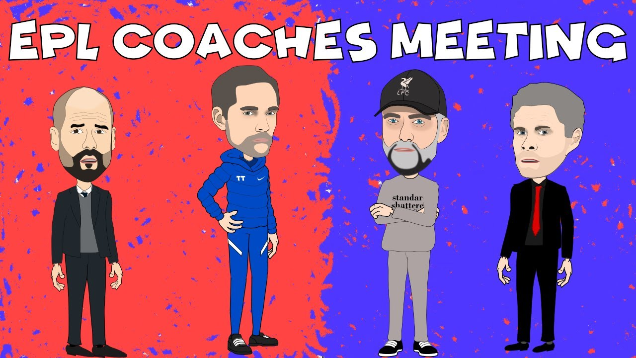 Download Top EPL Coaches Meet Again 🤪⚽🏆😁