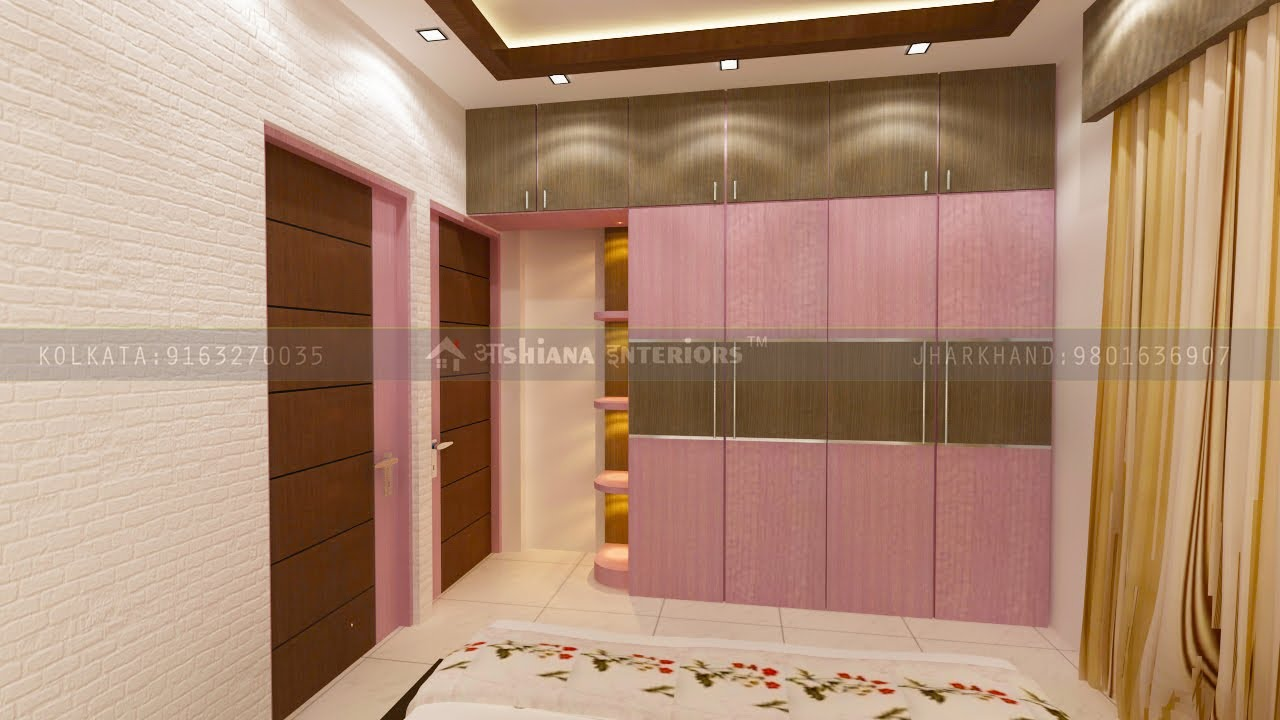 Wardrobe Decoration For Bedroom In Kolkata Ashiana Interiors