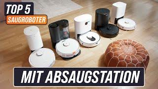 SPOTLIGHT ABSAUGSTATION - Die 6 besten Staubsauger Roboter mit Absaugstation   Test & Vergleich