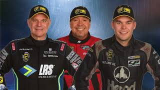 NHRA on FOX broadcasters Dave Rieff and Tony Pedregon and Indy Bure...