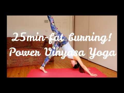 脂肪燃焼!25分Vinyasa  Flow yoga