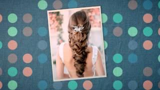 Свадебные прически на средние волосы для тебя