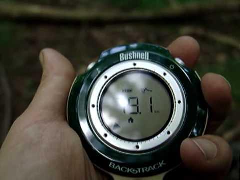 Bushnell Backtrack GPS Review & Live Demonstration For Hunters Hikers Campers