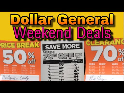 WOAH! Dollar General Deals & Sales This Weekend Glitch Toys And MORE