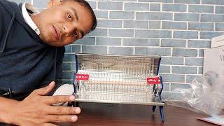bajaj room heater unboxing bajaj flashy room heater | classic design | only 1000 watts