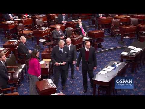 Luther Strange sworn into U.S. Senate (C-SPAN)