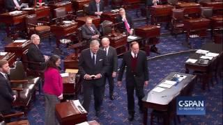 Luther Strange sworn into U.S. Senate (C-SPAN)