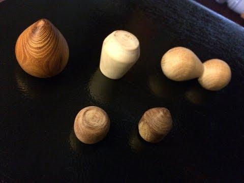 Homemade Wooden Fridge Magnets