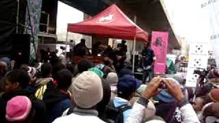 DEEP SOWETO perfoming at Back to the City
