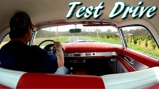 Test Driving 1957 Ford Thunderbird 312 V8 Tri Power