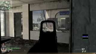 Call of Duty MW2 Invasion - TDM ACR Holosight Flawless PC Gameplay
