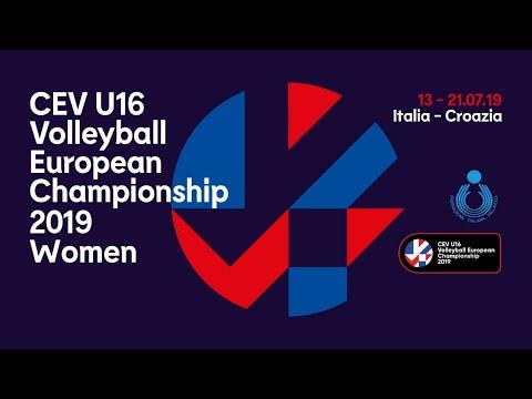 Finale Europeo U16 femminile Italia-Turchia