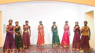 Bethelayil Piranthavarai (Tamil) - Indian Christian Folk Dance.mov