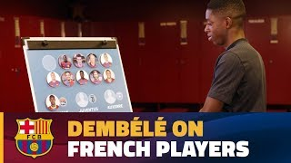Dembl looks back on other French players and tries to guess their last club before Bara