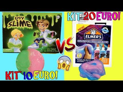 Download Youtube: SLIME KIT ELMERS 20 EURO VS SLIME KIT CINESE 10 EURO! QUAL E' MEGLIO!? Iolanda Sweets