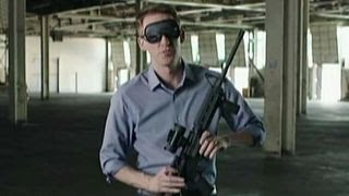 Image result for blindfolded man with rifle pictures