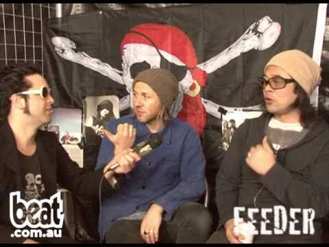 Feeder Interview - The Knave interviews for BEAT TV at The Melbourne Soundwave 2011