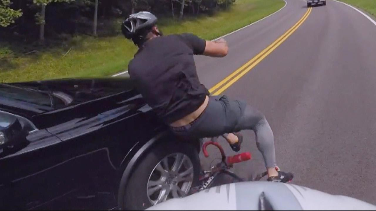 Cyclist Hit By Motorcycle