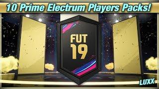 FUT 19 - 10 Prime Electrum Players Packs!