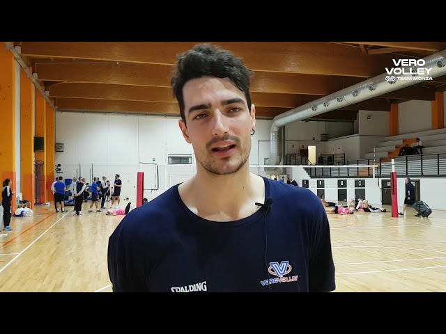 Yacine Louati pre Vero Volley Monza vs Sora