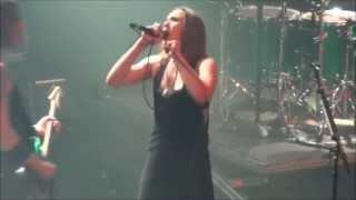 Halestorm - Dissident Aggressor (Judas Priest cover) - (Live - AB - Brussels - Belgium - 2013)