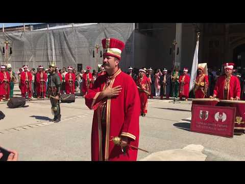 Parade at Topkapi Palace Build 1465 Istanbul Turkey