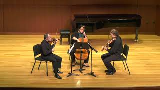 Gideon Klein: String Trio (1944) - I. Allegro