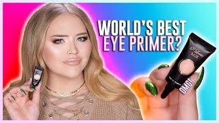 omg worlds best eyeshadow primer  nikkietutorials