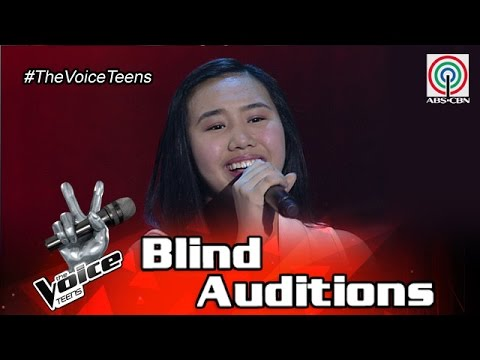 The Voice Teens Philippines Blind Audition: Alyssa Datu - Hanggang