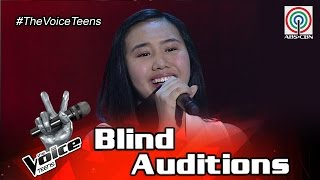 Repeat youtube video The Voice Teens Philippines Blind Audition: Alyssa Datu - Hanggang
