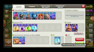 [CLASH OF CLANS] Compo rush hybride HDV10 #1 - Le GOWIVABO !