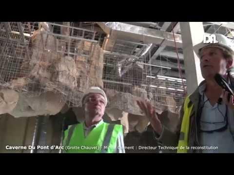 Drôme Ardèche TV - Caverne du Pont d'Arc - Grotte Chauvet Reconstituée