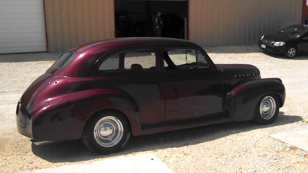1941 chevy sedan youtube for 1941 chevy 4 door sedan