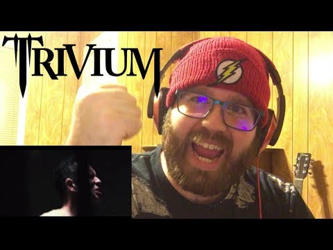 Trivium  The Sin And The Sentence   Reaction!!!