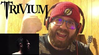 Trivium - The Sin And The Sentence [OFFICIAL VIDEO] Reaction!!!