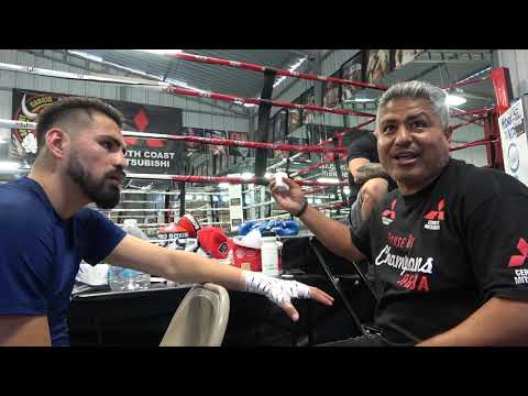 """""""harder to be 8 division champ than being 50-0"""" says robert garcia EsNews Boxing"""