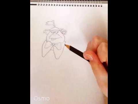 Drawing # 1 Tweedle Dee and Tweedle Dum