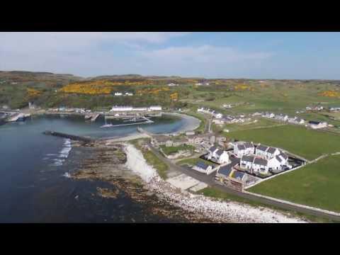RC Parrot BEBOP 2, RATHLIN ISLAND 2, Northern Ireland, May 01, 2017