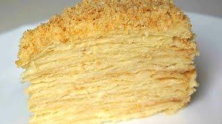 видео торт наполеон рецепт