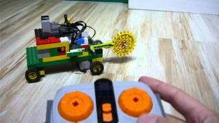 le robot destructeur en lego